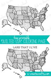 Usa Coloring Pages Free Coloring Page Quilted Usa by Usa Coloring Pages
