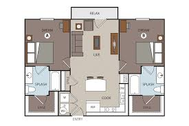 prado student living floor plans studio 1 2 3 4 5 bedroom