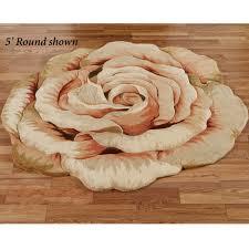 flower area rugs rosine cabbage rose flower area rug