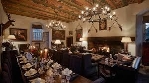 castle dining room forter castle