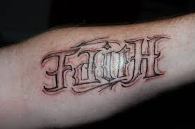 16 word tattoos on forearm