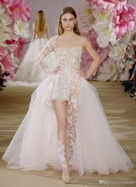 wedding dress jumpsuit ines di santo one shoulder asymmetrical jumpsuit wedding dresses