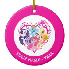 my pony ornaments keepsake ornaments zazzle