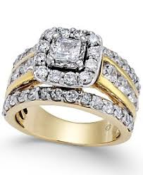 Wedding Rings Pictures by Yellow Gold Womens Engagement And Wedding Rings Macy U0027s