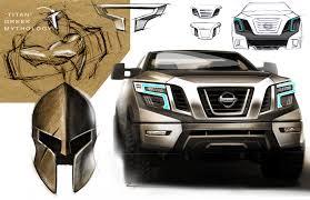 nissan titan interior lights original concept design sketches exterior interior nissan titan