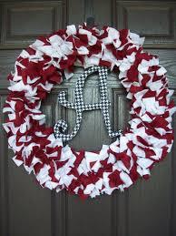 Alabama Football Home Decor Best 25 Alabama Wreaths Ideas On Pinterest Alabama Crafts