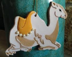 camel ornament etsy
