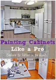Painting Inside Kitchen Cabinets Before U0026 After Kitchen I Love White Kitchens Room Redos