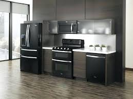 what color cabinets go with black appliances how to decorate a kitchen with black appliances narrg com