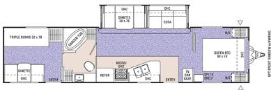 triple bunk travel trailer floor plans two bedroom travel trailer internetunblock us internetunblock us
