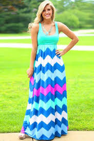 chevron maxi dress light green chevron printed color block maxi dress casual