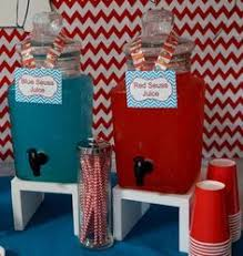 Cat In The Hat Table Centerpieces by Toss The Cat In The Hat Game For Thing One And Thing Two Birthday