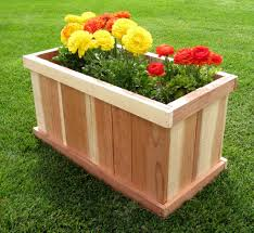 awesome large planter boxes home decorations insight