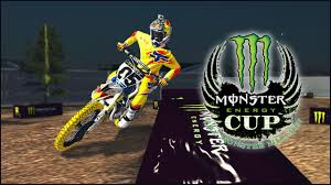 monster energy motocross helmet mx simulator 2014 monster energy cup updated hotlap on 2nd lap