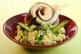 cuisine vapeur recette recette de vapeur de bar risotto verde huile d olive au sirop de