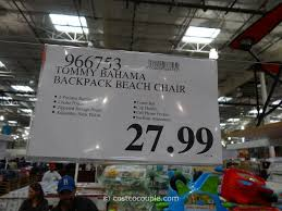 Costco Chairs Tommy Bahama Backpack Beach Chair