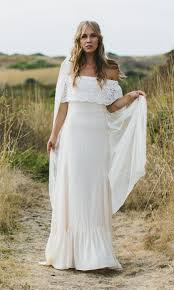 silk wedding dress wedding dress casablanca silk boho bridal dress