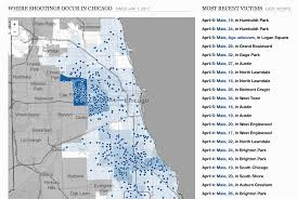 Chicago Community Map by East Side Chicago Shooting Victims Update U2013 April 7 2017