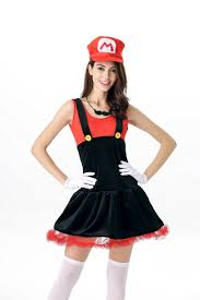 mario and luigi halloween costumes party city super mario costume women promotion shop for promotional super