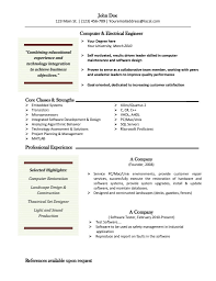 Software Engineer Resume Template For Word Word Resume Template Mac Cv Resume Ideas