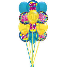 get well soon balloons delivery send get well soon balloons with smiley for get well