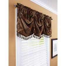 Nursery Valance Curtains Window Valance Yellow Grey Walmart