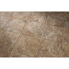 Lowes Kitchen Floor Tile by Shop Style Selections Canyon Espresso Glazed Porcelain Floor Tile