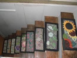 funky carpet on stair treads staircase ideas pinterest stair