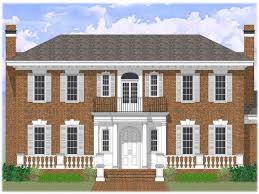 colonial open floor plan collection brick colonial house plans photos the latest