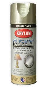 Krylon Transparent Spray Paint - krylon fusion for plastic metallic shimmer spray