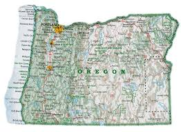 85 best oregon maps images on pacific northwest