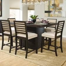 7 piece counter height dining room sets outstanding homelegance ronan 7 piece counter height table set in