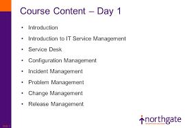 Service Desk Courses Itil Service Management Foundation Slide 2 Course Objectives To