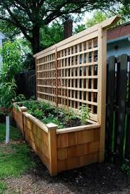 Wooden Planter With Trellis 33 Beautiful Built In Planter Ideas To Upgrade Your Outdoor Space