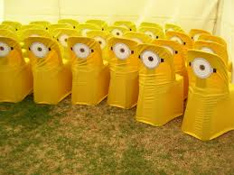 Yellow Chair Covers Minion Chair Covers Let U0027s Get Creative Pinterest