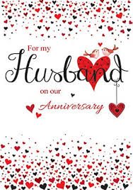For My Husband On Our Anniversary Cards For Husband Funky Pigeon