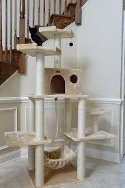amazon com armarkat a7202 72 inch cat tree beige cat toys