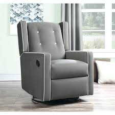 Glider Recliner With Ottoman For Nursery Fabric Glider Recliner With Ottoman Getestate Us