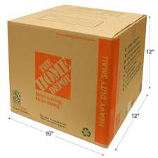 Home Depot Pro Extra by The Home Depot 16 In L X 12 In W X 12 In D Heavy Duty Small Box