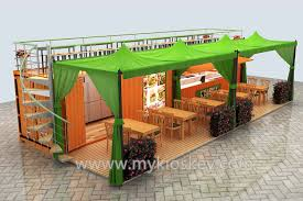 how to build a coffee container shop food kiosk juice bar