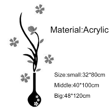 3d acrylic three dimensional vase background flower tree acrylic 3d acrylic three dimensional vase background flower tree