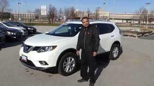 nissan suv 2016 white 2016 nissan rogue sv tech package review youtube