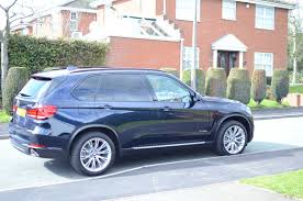 Bmw X5 Blue - imperial blue with mocha delivered