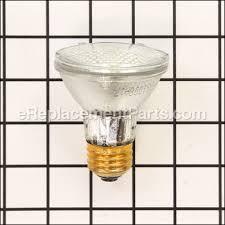 par20 halogen bulb 50 watt p1130 for appliance ereplacement parts
