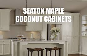 top quality kitchen cabinet manufacturers schrock cabinetry seaton maple coconut cabinets