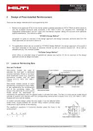 Pizza Inn Coupons Buffet by Technical Data Sheet For Post Installed Rebar According To Ec2