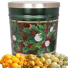 bouquet gift tin 6 5 gallon 4 flavor popcorn tin