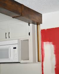 How To Remove Kitchen Cabinets by Kitchen Makeover 2015 Remove Half Wall Extend Beam U0026 Add