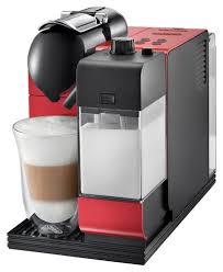 delonghi super automatic espresso machine amazon black friday deal delonghi nespresso lattissima plus espresso maker red en520r