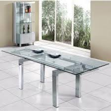 all glass dining table glass dining tables uk furniture in fashion